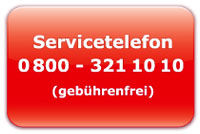 CleaningConcepts Servicetelefon 0800 321 10 10